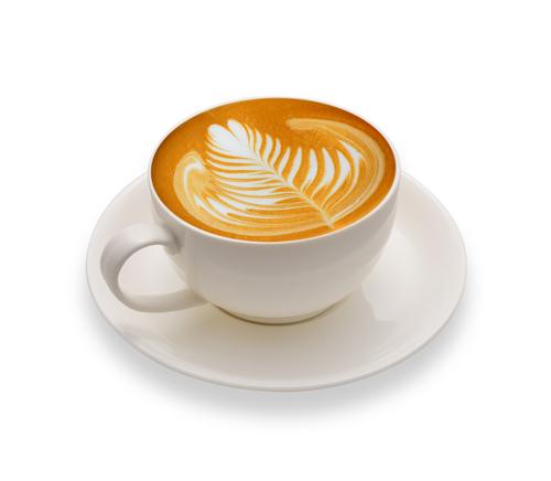 Caramel Latte Coffee Bean Flavor