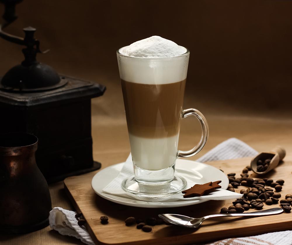 Caramel Latte Coffee Bean Flavor: Caramel Macchiato Coffee Bean Flavor